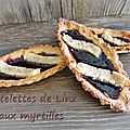 Tartelette de Linz version <b>myrtilles</b>