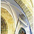 Restauration de l'église de Bouin.
