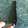 Review : L'eye-<b>liner</b> pinceau E.l.f.