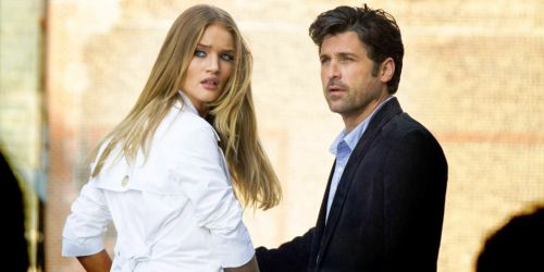 Rosie Huntington-Whiteley et Patrick Dempsey