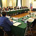 conseil <b>municipal</b> à Avranches du 24 avril <b>2014</b> et le vote du budget primitif : tensions entre G. Huet et la majorité <b>municipale</b>