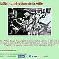 TRELON - GLAGEON - La Libération des deux villes le 2 Septembre 1944 ***