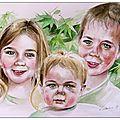 <b>Portrait</b> à l'aquarelle !