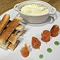 Oeufs cocotte au <b>saumon</b> <b>fumé</b>