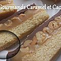 Biscuits Gourmands Caramel et Cacahuètes ( au <b>Thermomix</b> )