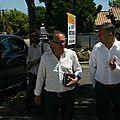 MIREVAL : Deux parlementaires, Christian Assaf et Éric Andrieu chez les Muscatièrs
