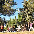 Stage <b>été</b> 2016 Pilates et yoga en Provence