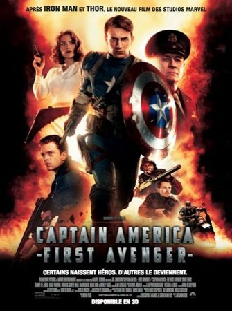 Affiche-Captain-America First-Avenger