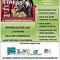 J - 3 Le stress gagne nos campagnes...le Pays des Combrailles ... Rejoignez-nous nombreux !