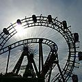 Le parc d'attraction du Prater vienne