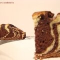 <b>Marbré</b> au chocolat