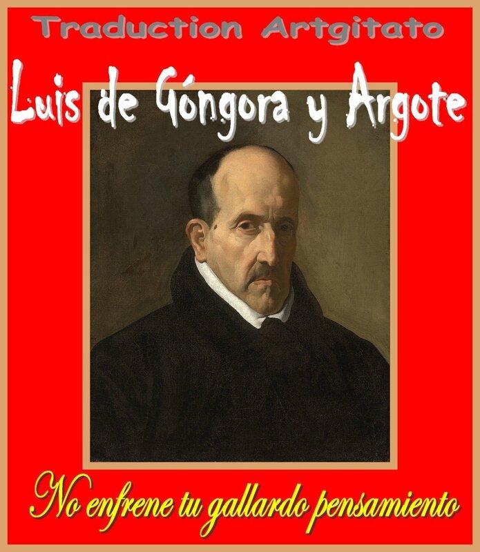 No enfrene tu gallardo pensamiento Luis de Góngora y Argote Artgitato Soneto Sonnet