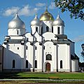 <b>CATHEDRALE</b> SAINTE-SOPHIE - NOVGOROD (Russie)