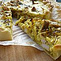 Tarte au poulet au <b>curry</b>