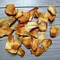 Chips de <b>topinambours</b>