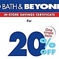 Bed <b>Bath</b> and Beyond Coupons News