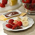 Recette <b>dessert</b> rapide Fruit Fun-do