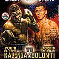 A ne pas manquer samedi 7 novembre a 20H30 en direct sur la chaine l équipe21 le grand retour de YOURI KALENGA