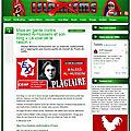 Waleed Al-Husseini pris en flagrant délit de plagiat de sites d'<b>extrême</b>-droite