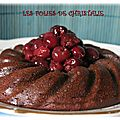 Gâteau moelleux chocolat cerises <b>sans</b> <b>gluten</b>