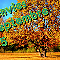 Mes envies de Septembre 2015