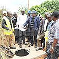 80 000 ménages connectés au réseau d'eau potable