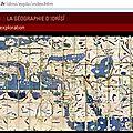 La <b>cartographie</b> médiévale 1
