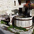 Fontgillarde, hameau de Molines-en-Queyras