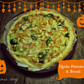 Quiche potimarron et brocoli {<b>Vegan</b>}