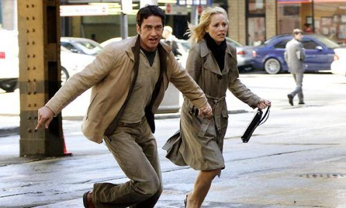 Maria Bello couple