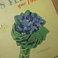 Livre ... Les fleurs que <b>j</b>'<b>aime</b>