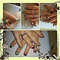 Beauté des ongles , nail art , zen