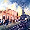 la gare de Souk Ahras