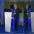 <b>THALES</b> Avionics Mérignac Le PDG Gil Michielin se clone pour son show AVS 2017
