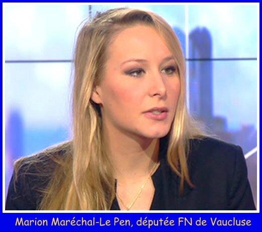 Marion Marechal Le Pen I-Télé