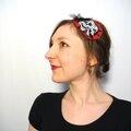 VENDU Headband Bandeua Cheveux <b>Pin</b>-<b>up</b> Burlesque Rétro