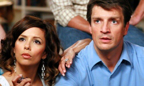 Eva Longoria & Nathan Fillion