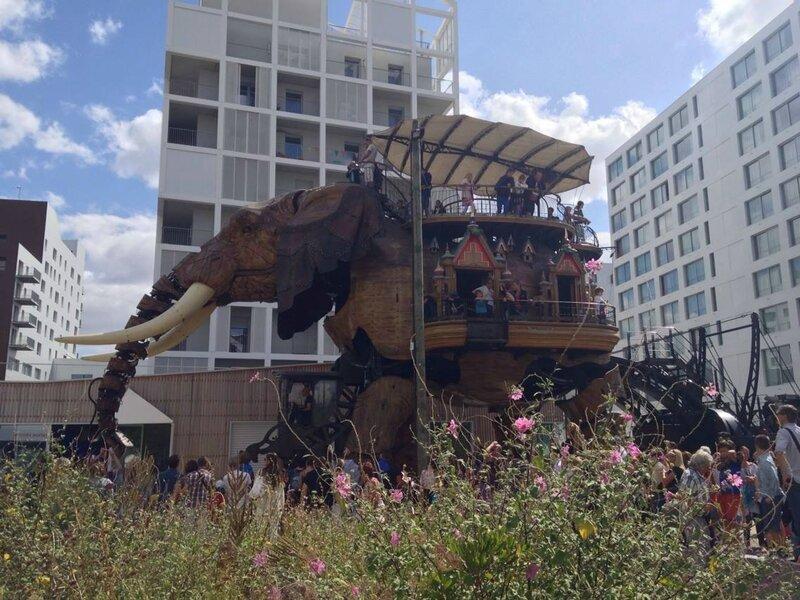 Un éléphant qui se baladait ...