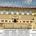 Amphithéâtre de Saintes - Stadium <b>Puy</b> du <b>Fou</b>
