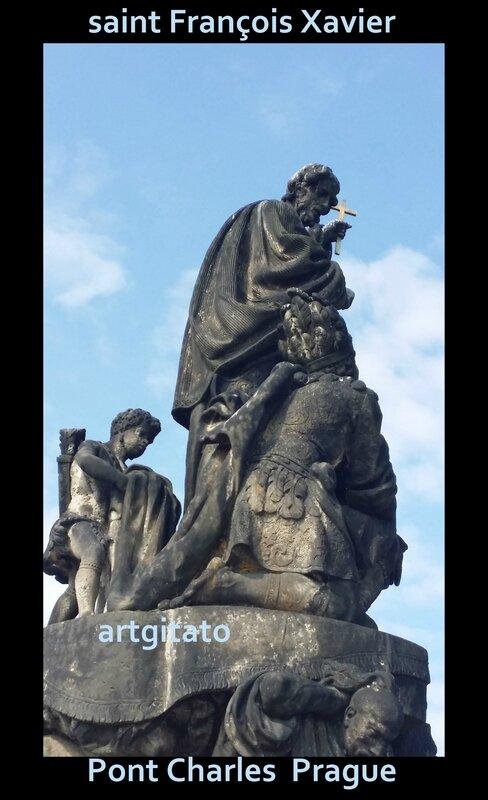 saint François Xavier Artgitato Pont Charles Prague 2