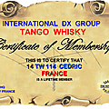 TANGO WHISKY DX GROUP
