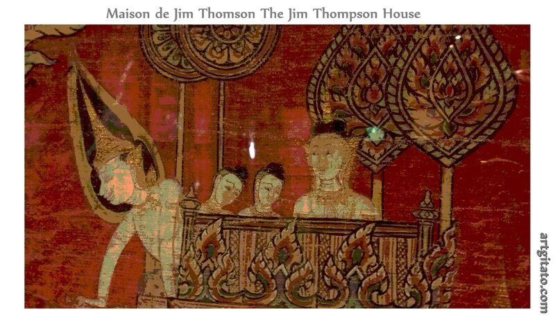 Maison de Jim Thomson The Jim Thompson House Bangkok Thailand Thailande 7