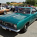 Plymouth <b>Barracuda</b> notchback hardtop coupe-1968
