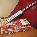 Notre maquette de camion de pompiers