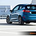 La nouvelle Ford Fiesta est disponible à la location à Casablanca