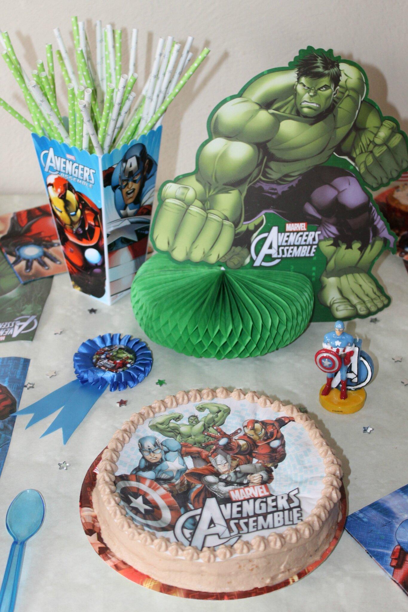 Populaire Gâteau Avengers - Mes P'tits Biscuits Gourmands et Autres Délices XQ57