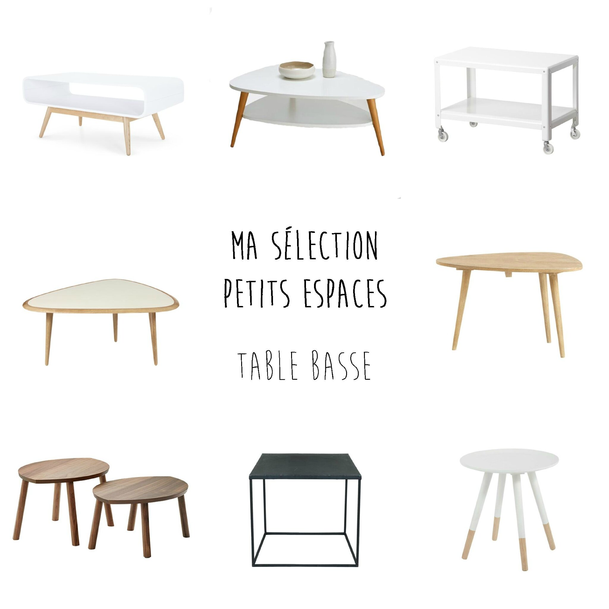 Un petit salon comment trouver la table basse id ale for Maison du monde table basse de salon