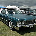 Lincoln <b>Continental</b> hardtop coupe - 1969