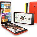 Fiche technique : <b>Nokia</b> Lumia 1320