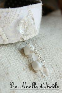 bijoux blancs et verre filé 025